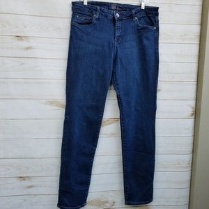 Kut jeans 14 high waist skinny very dark stretch